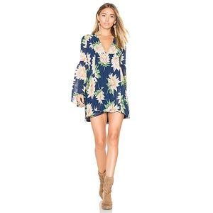 Show Me Your MuMu / Mia tunic dress, sunflower NWT